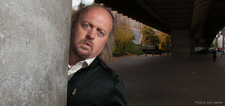 Bill Bailey tells Jo Reynolds that making people laugh is his life's work